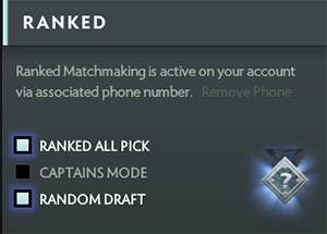 Dota 2 matchmaking ranking ladder