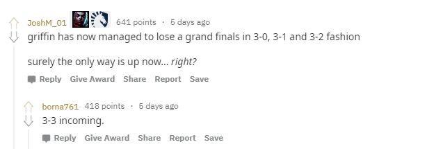 Wenn G2 zwei Spiele verliert, damit Fnatic Fans Spaß haben