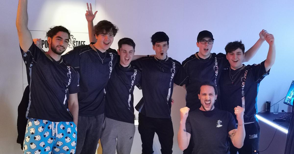 Team Liquid celebrate their qualification for Iceland.