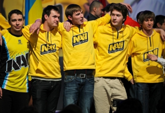 Happier days; Na`Vi at ESWC 2011