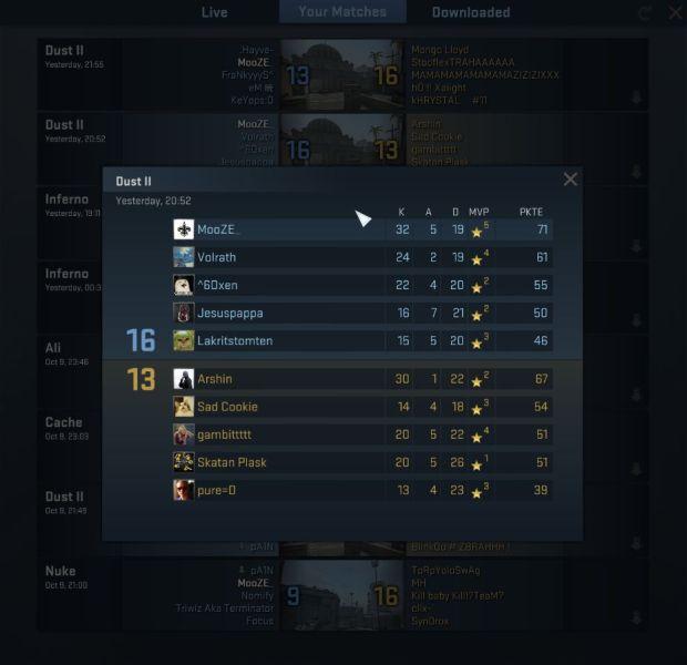 Cs go Bananen-Matchmaking