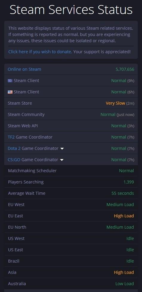 Cs go bin nicht mit matchmaking server verbunden