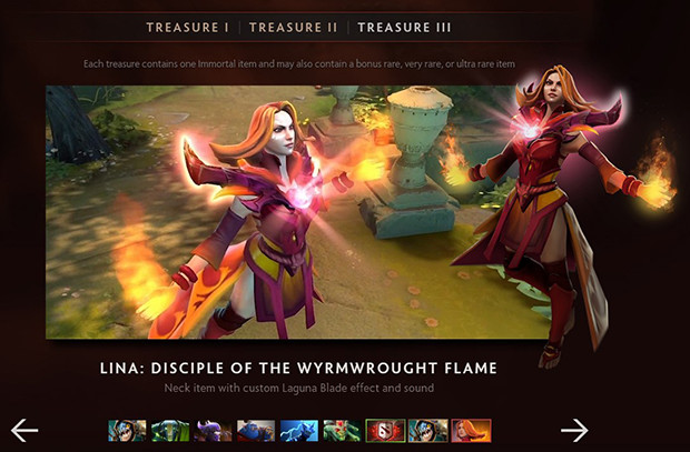 Immortal Treasure I: Have You Opened Your Immortal Treasure III Yet? TI6 Chest