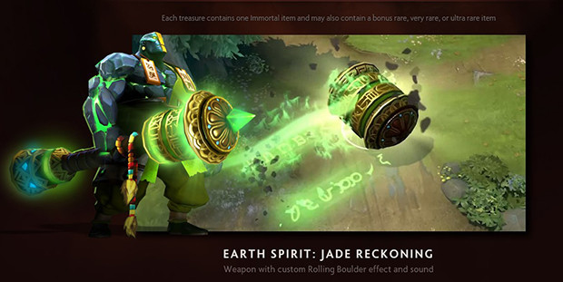 Another Try At Slark Ultra Rare: Have You Opened Your Immortal Treasure III Yet? TI6 Chest