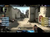 NorthCon 2012 Gruppenphase II - Absolute Legends vs. Team GAMED.DE (de_dust2)