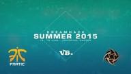 fnatic vs. NiP | Halbfinale, Dreamhack Summer 2015 | de_train Map 2