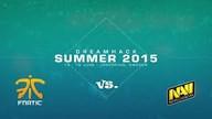 fnatic vs. Natus Vincere | Finale, Dreamhack Summer 2015 | de_train Map 2