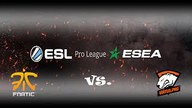 fnatic vs Virtus.pro | Halbfinale, ESL ESEA Pro League Season Finals #1 | de_overpass Map 2
