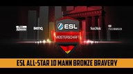 ESL All-Star 10 Mann Bronze Bravery