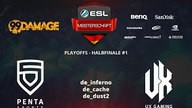 PENTA Sports vs. UX Gaming | Halbfinale, ESL Sommermeisterschaft 2015 | de_cache Map 2