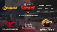 mousesports vs. PKD | Halbfinale, ESL Sommermeisterschaft 2015 | de_cobblestone Map 3