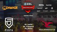 PENTA Sports vs. mousesports | Finale, ESL Sommermeisterschaft 2015 | de_overpass Map 2
