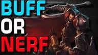 BUFF OR NERF - Darius (Patch 5.16) [GER]