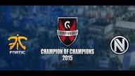 fnatic vs. EnVyUs | Finale, Gfinity Champion of Champions | de_train Map 3