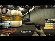 fnatic FragOut CS:GO-League Spiel um Platz 3- Anexis vs. VeryGames (de_nuke) Map 1