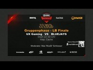 BLUEJAYS vs. UX Gaming | Gruppe B, ESL WM 2015 Gruppenphase | de_cache
