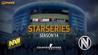 Natus Vincere vs. EnVyUs | Halbfinale, SL i-League StarSeries XIV | de_cobblestone Map 1