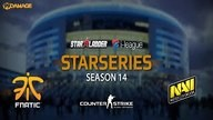fnatic vs. Natus Vincere | Finale, SL i-League StarSeries XIV | de_cobblestone Map 2