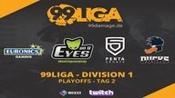 Playing Ducks vs. EYES ON U | 99Damage Liga Saison #2 - Consolation Finale | de_dust2 Map 1