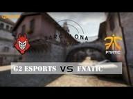 G2 Esports vs. fnatic | ESL Barcelona CS:GO Invitational | de_inferno Match #18