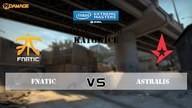 fnatic vs. Astralis | Halbfinale, IEM Katowice 2016 | de_overpass Map 1