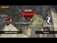 ALTERNATE aTTaX vs. LeiSuRe | ESL Frühlingsmeisterschaft 2016 Cup #2 | de_cobblestone