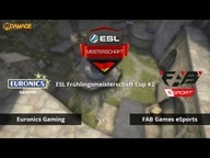EURONICS vs. FAB Games eSport | ESL Frühlingsmeisterschaft 2016 Cup #2 | de_cobblestone