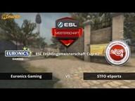 EURONICS vs. SFTO eSports | ESL Frühlingsmeisterschaft 2016 Cup #2 | de_overpass