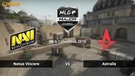 Natus Vincere vs. Astralis | Halbfinale, MLG Columbus 2016 | de_dust2 Map 2