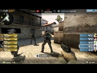 EMS One Spring 2013 Halbfinale - fnatic vs. Absolute Legends (de_mirage) Map 1