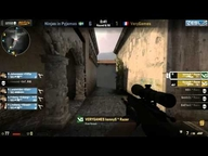 EMS One Spring 2013 Halbfinale - Ninjas in Pyjamas vs. VeryGames (de_inferno) Map 1