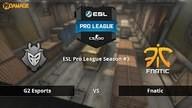 G2 Esports vs. fnatic | Halbfinale, ESL Pro League Season #3 | de_train Map 3