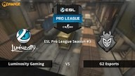 Luminosity vs. G2 Esports | Finale, ESL Pro League Season #3 | de_train Map 2