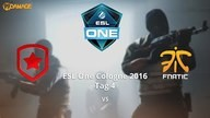 Gambit Gaming vs. fnatic - Viertelfinale, ESL One Cologne 2016