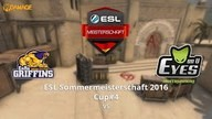 EnRo GRIFFINS vs. EYES ON U | ESL Sommermeisterschaft 2016 Cup #4 | de_cache