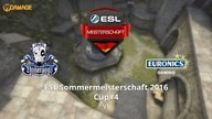 UNDERDOGS vs. EURONICS Gaming | ESL Sommermeisterschaft 2016 Cup #4 | de_cobblestone