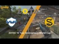 MVP PK gegen SPLYCE - Viertelfinale, ZOTAC 10 Year Anniversary World Cup