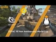 Team Kinguin gegen VG.CyberZen - Halbfinale, ZOTAC 10 Year Anniversary World Cup