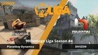DIVIZON gegen Planetkey Dynamics - Spieltag 2, 99Damage Liga Saison #4