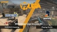 Playing Ducks gegen EURONICS Gaming - Spieltag 2, 99Damage Liga Saison #4