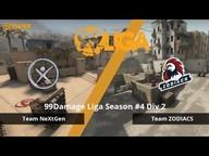 Team NeXtGen gegen Team ZODIACS - Spieltag 3, 99Damage Liga Saison #4 Div 2