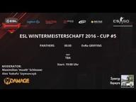 PANTHERS vs. BLUEJAYS - ESL Wintermeisterschaft 2016 Cup #5