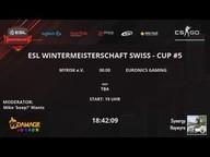FAB Games eSport vs. EURONICS Gaming - ESL Wintermeisterschaft 2016 Cup #5