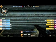 Fnatic FragOut CS:GO League Halbfinale - LDLC vs. Epsilon (de_train) Map 1