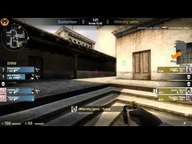 Playing Ducks Female CUP - Halbfinale iNfernity Ladies vs. Zuckerfeen (de_mirage) Map 1