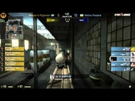 SLTV Starseries VI Finals - Ninjas in Pyjamas vs. Natus Vincere (de_train) Map 2