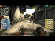 DreamHack Valencia 2013 Viertelfinale - Panthers vs. k1ck (de_dust2) Map 1