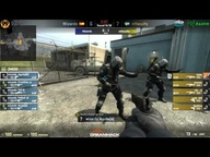 DreamHack Valencia 2013 Halbfinale - n!faculty vs. Wizards (de_nuke) Map 2