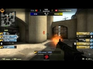 Mad Catz Invitational Cologne Achtelfinale - k1ck vs. Western Wolves (de_dust2) Map 2