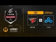 FaZe Clan vs. Cloud9 - ELEAGUE Major: Boston 2018 - Grand Final (Mirage)